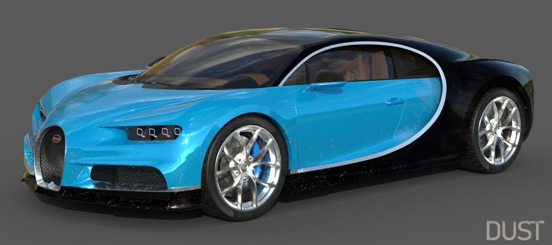 Bugatti Chiron Lowpoly Bugatti Chiron Low Poly 09 jpg