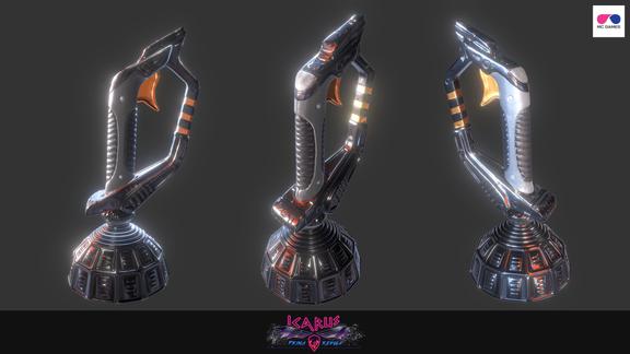 """Icarus Prima Regula"" VR Game Art"