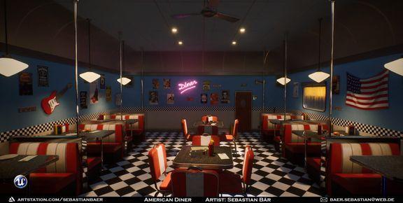 American Diner (UE4)