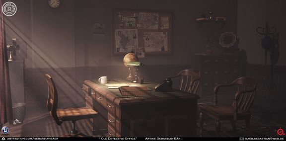 Old Detective Office