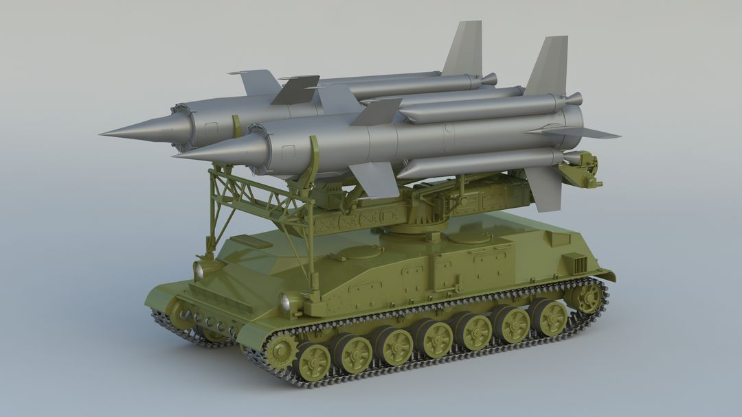 I can make 3D model high quality for vehicles. 2K11 Krug 001 jpg