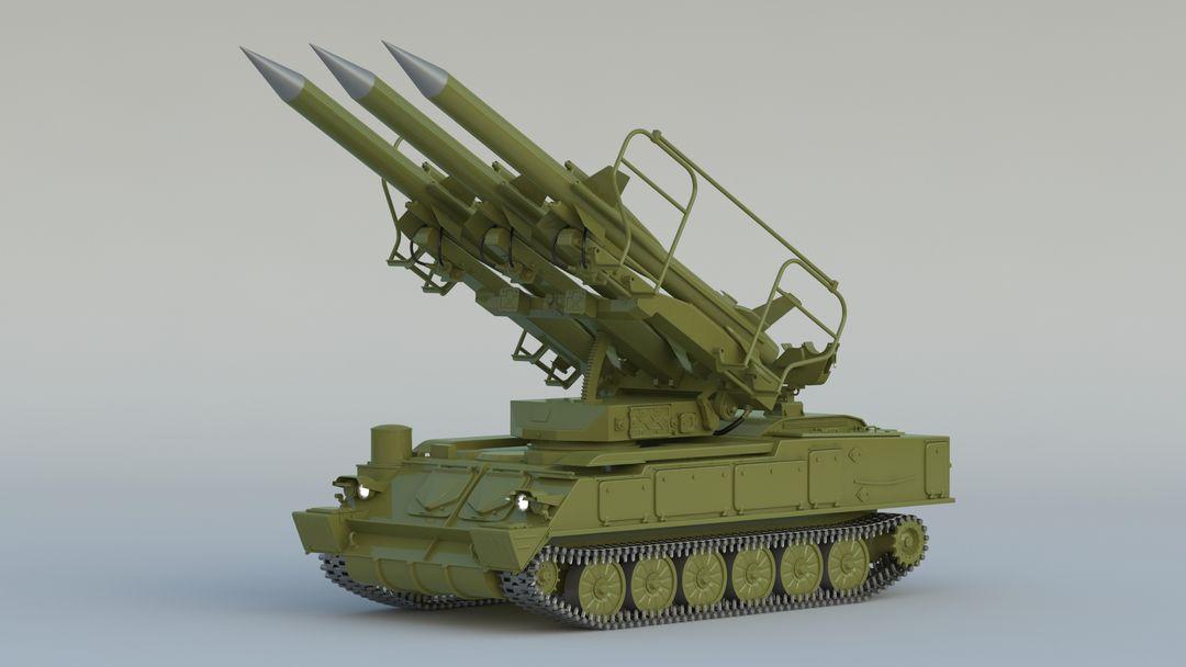 I can make 3D model high quality for vehicles. 2K12 Kub 001 jpg