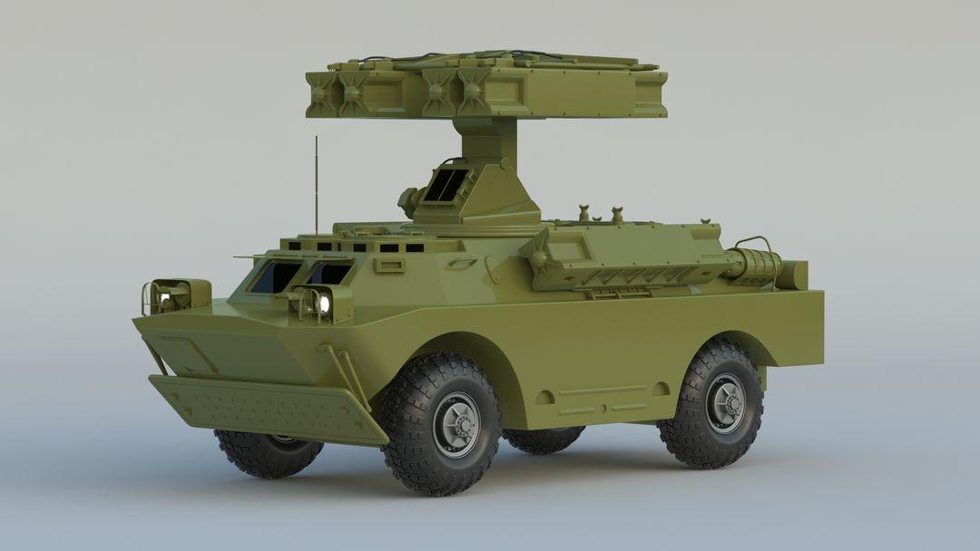 I can make 3D model high quality for vehicles. 9K31 Strela 1 001 jpg