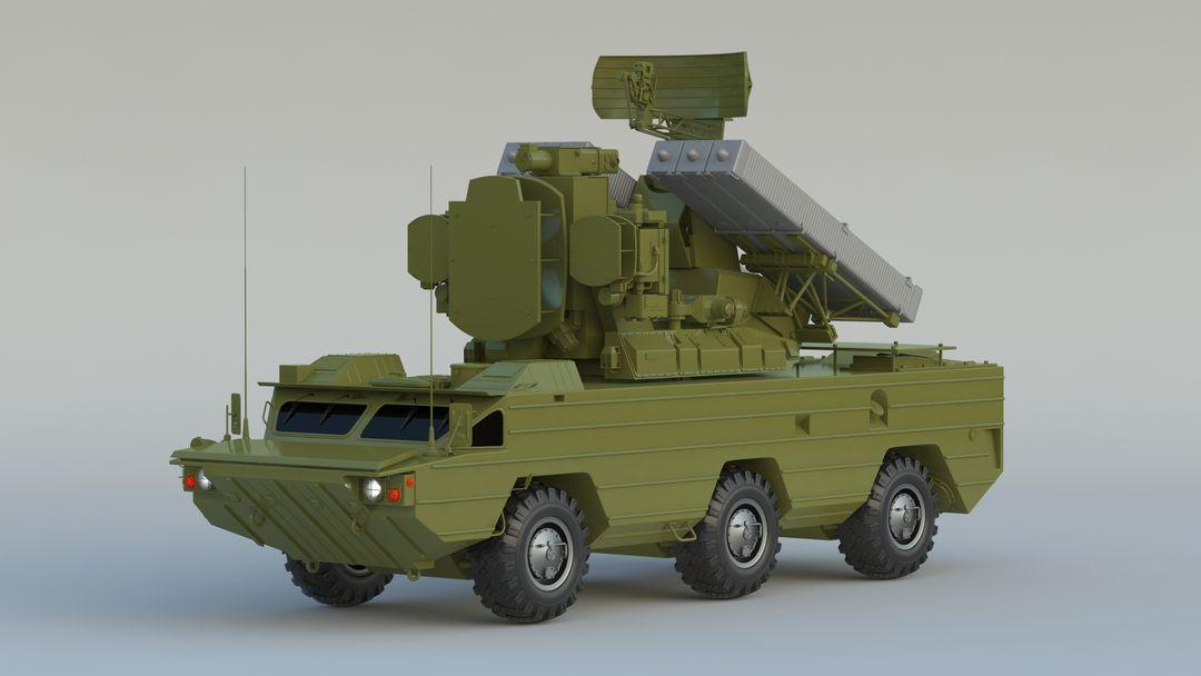 I can make 3D model high quality for vehicles. 9K33 Osa 001 jpg