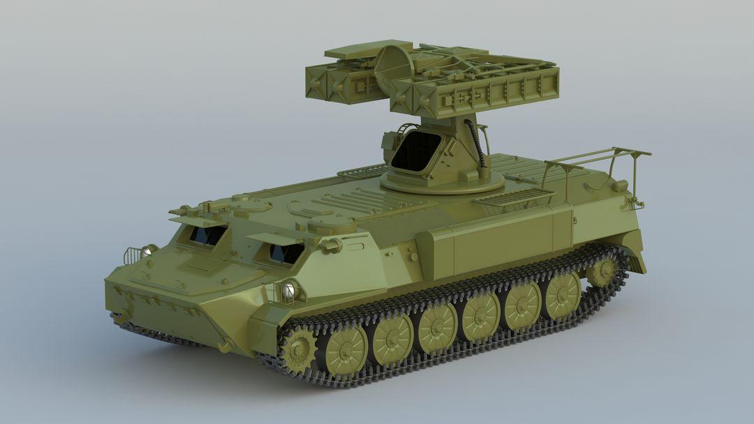 I can make 3D model high quality for vehicles. 9K33 Strela 10 001 jpg