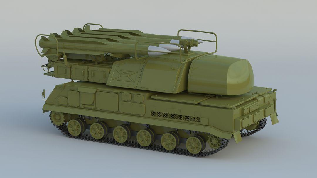 I can make 3D model high quality for vehicles. 9K37 Buk 001 jpg