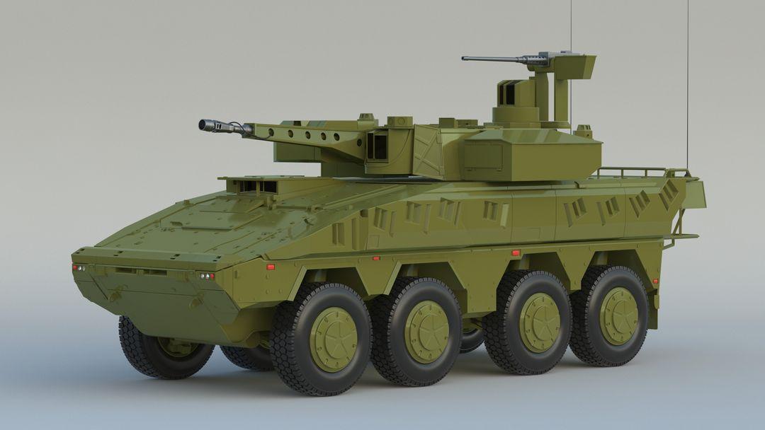 I can make 3D model high quality for vehicles. Boxer MRAV 001 jpg