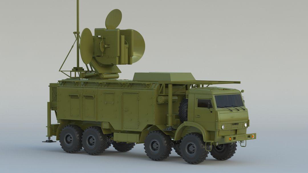 I can make 3D model high quality for vehicles. Krasukha 001 jpg