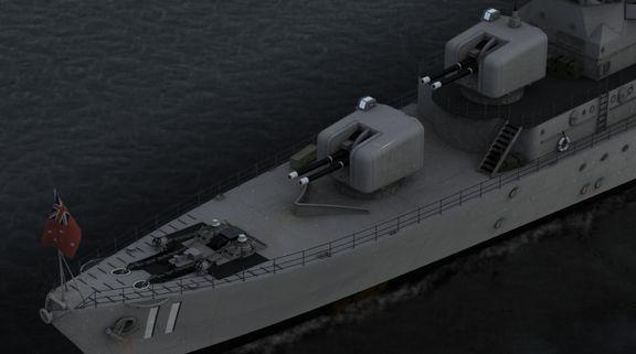 HMAS Vampire II 1970