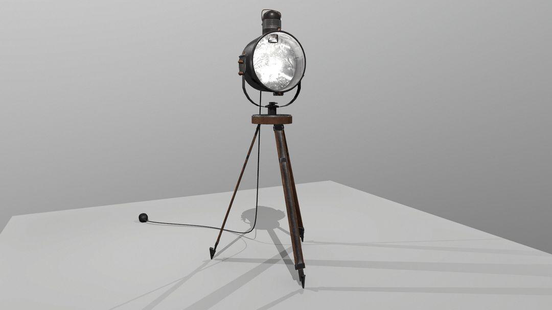 Antique Industrial Spotlight tim braslavsky screenshot009 jpg