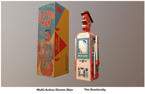 Vintage toy -Electro Man