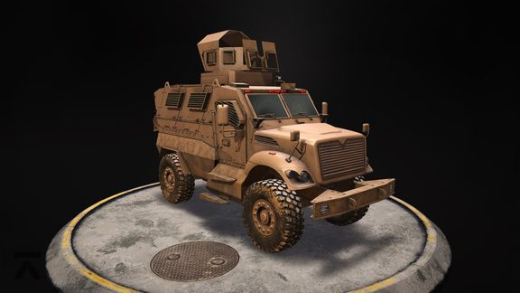 Military Desert Vehicle
