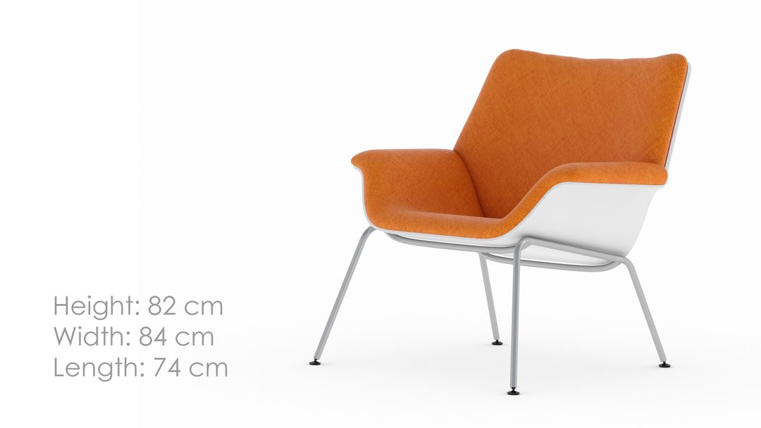 I will modeling a nice furniture 3d rendering in 3ds max Miller Swoop Chair 001c jpg