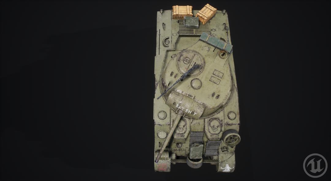 M4 Sherman Tank M4 Sherman Valurik 04 png