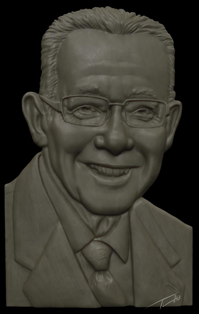 Portrait Relief Sculpt TrialSculpt png