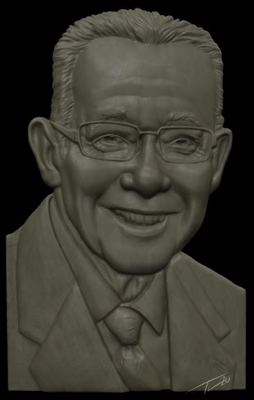 Portrait Relief Sculpt
