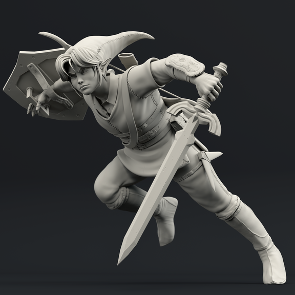 Link - Legend of Zelda Digital Sculpt