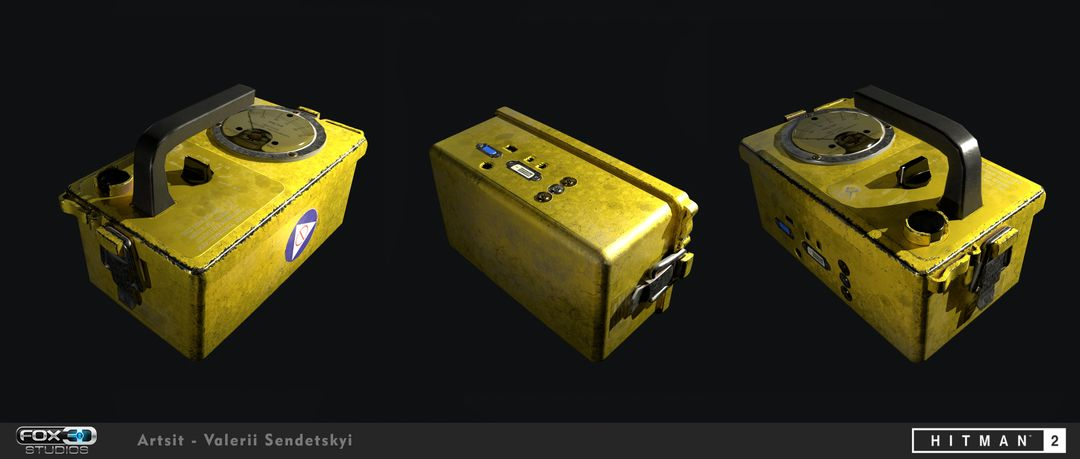 Game Props For Hitman 2 geiger counter jpg