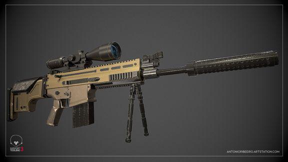 FN SCAR MK17