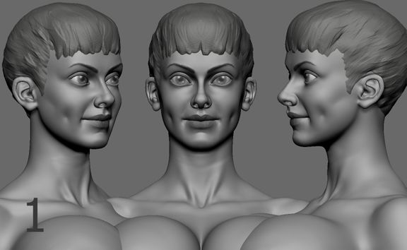 Character for 3D Print