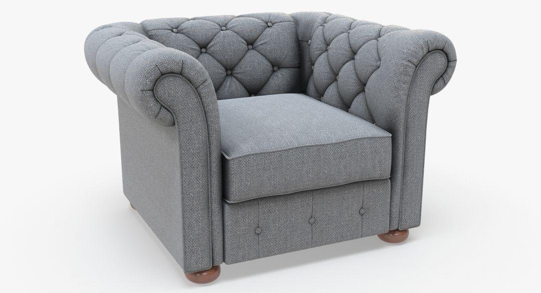 Furniture Modeling 3D knightsbridge linen tufted scroll Z jpg