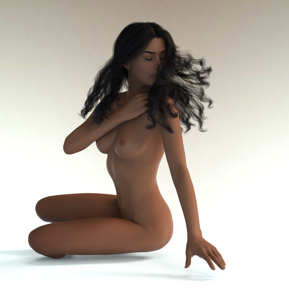 3D Female Character