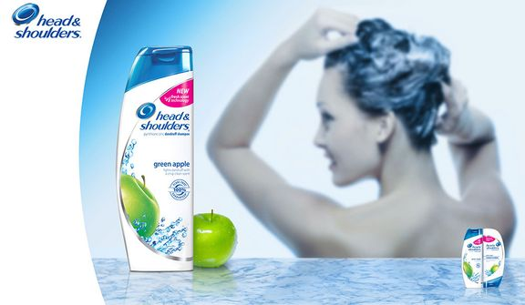 Head and Shoulders Bottle Render and Comp