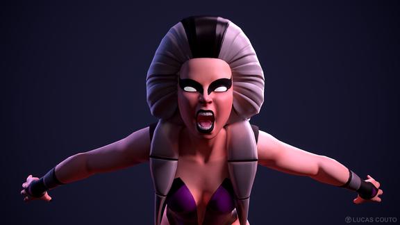 Sindel - Mortal Kombat 3