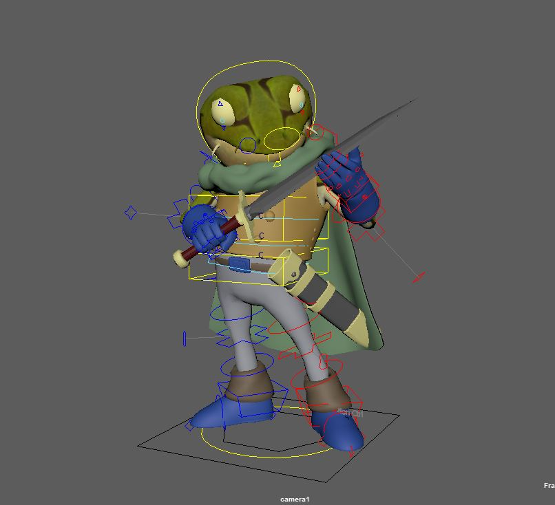 WIP Frog Chrono Trigger blocking