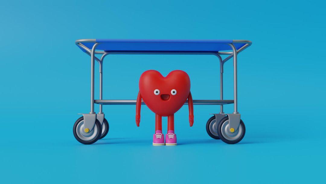 Germán Heart-Man german stretcher jpg