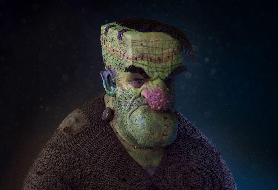 My name is not Frankenstein....! Frankey 4k res jpg