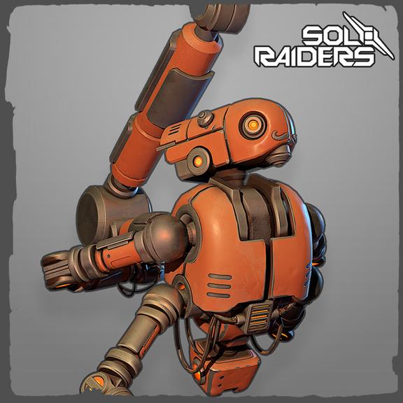 Sol Raiders VR Bartender Robot