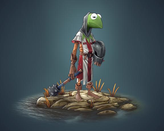 Kermit Medieval