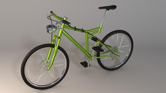 CoolaBike 3D Model