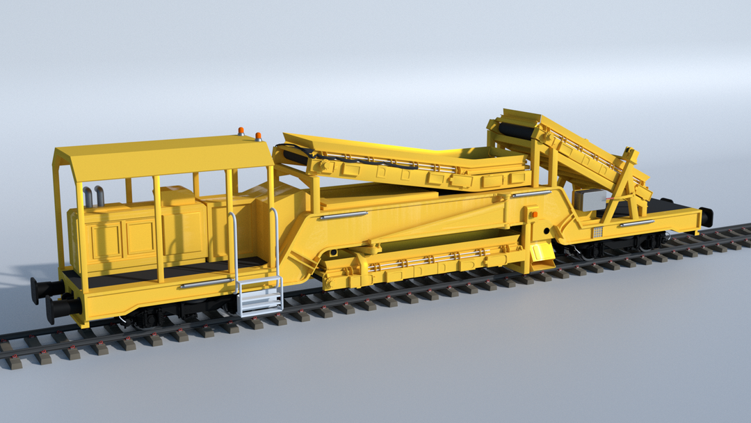 Railroad construction and Maintenance Vehicles UHM 01 png