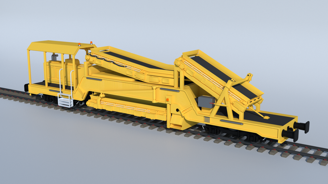 Railroad construction and Maintenance Vehicles UHM 02 png