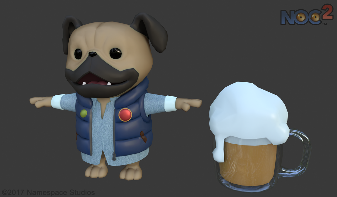 LowPoly Game Characters for a Fantasy Game (Unity) NEMED DIFF png
