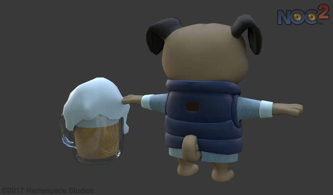 LowPoly Game Characters for a Fantasy Game (Unity) NEMED DIFF 02 png