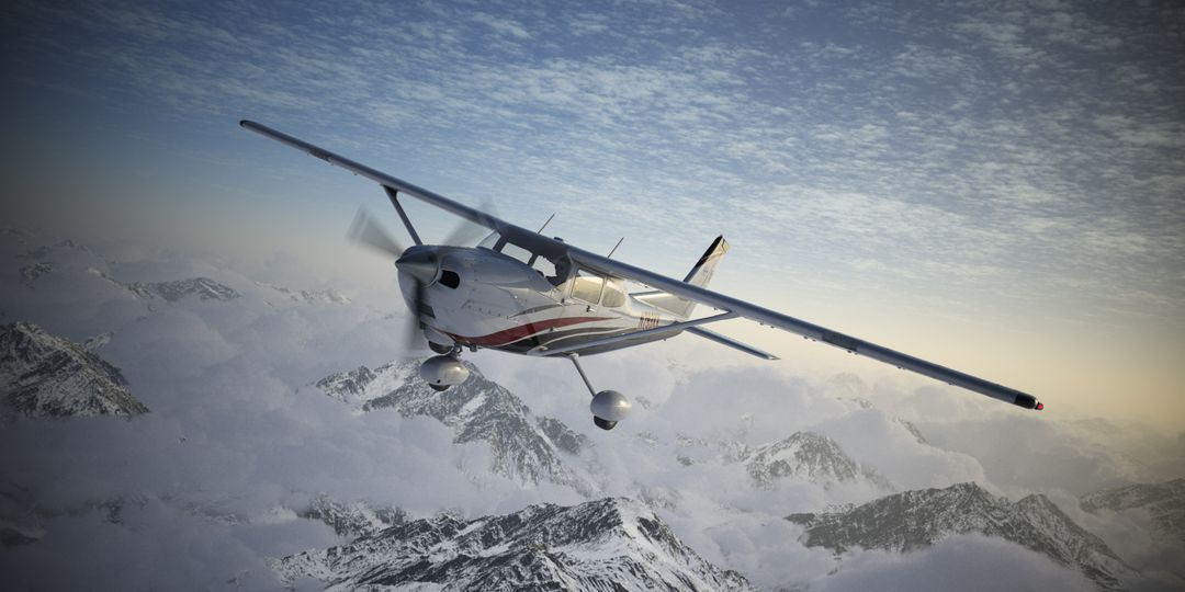Cessna Material Creation and Aerial View render01 jpg