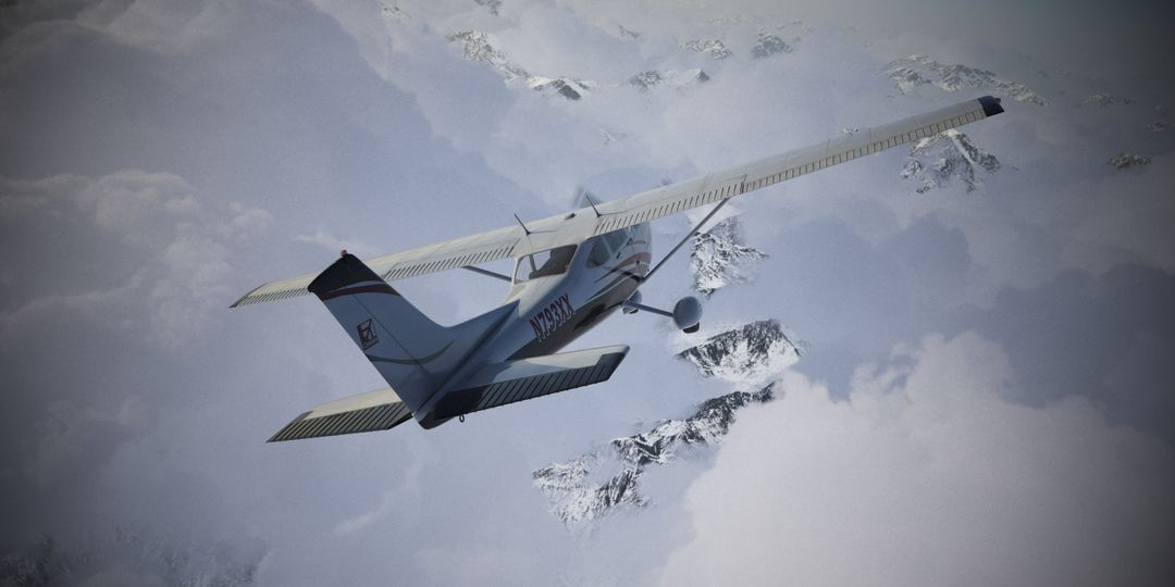 Cessna Material Creation and Aerial View render02 jpg
