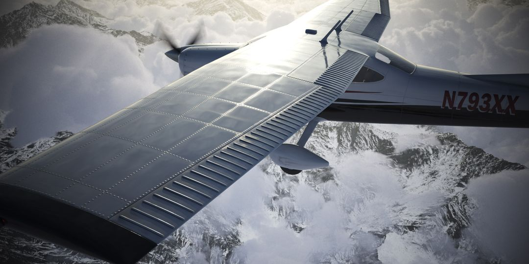 Cessna Material Creation and Aerial View render04 jpg