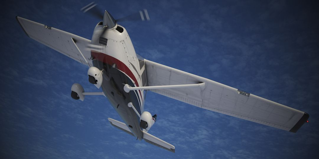 Cessna Material Creation and Aerial View render05 jpg