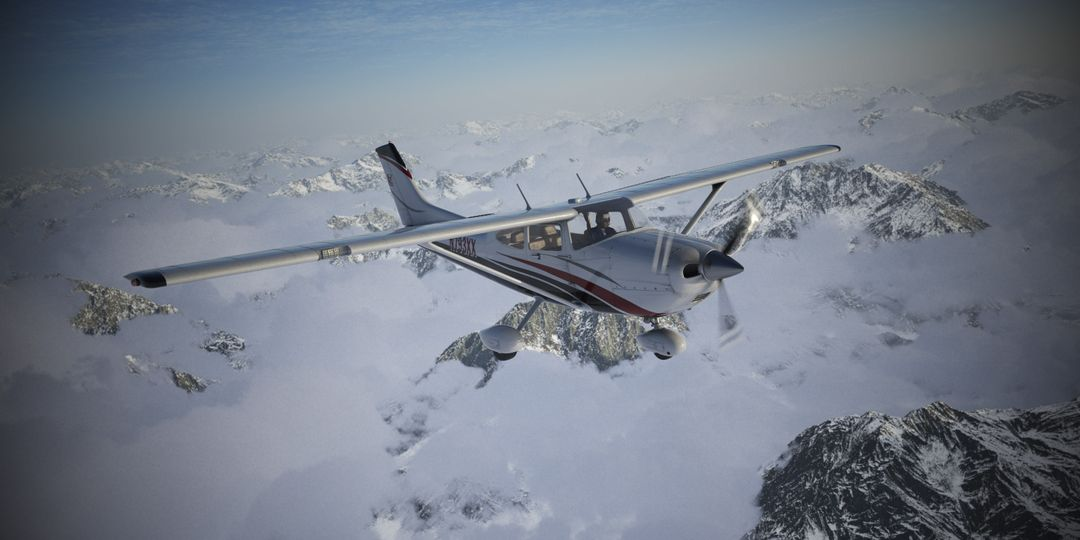 Cessna Material Creation and Aerial View render06 jpg