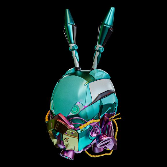 Cyberpunk Rabbit