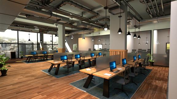 office open area