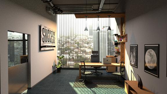CEO office interior design