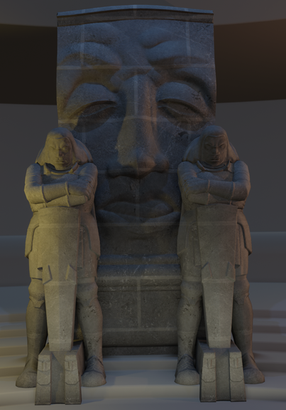 Battle of Nations Guards Sculpt, Retopo & PBR texturing (UE4)