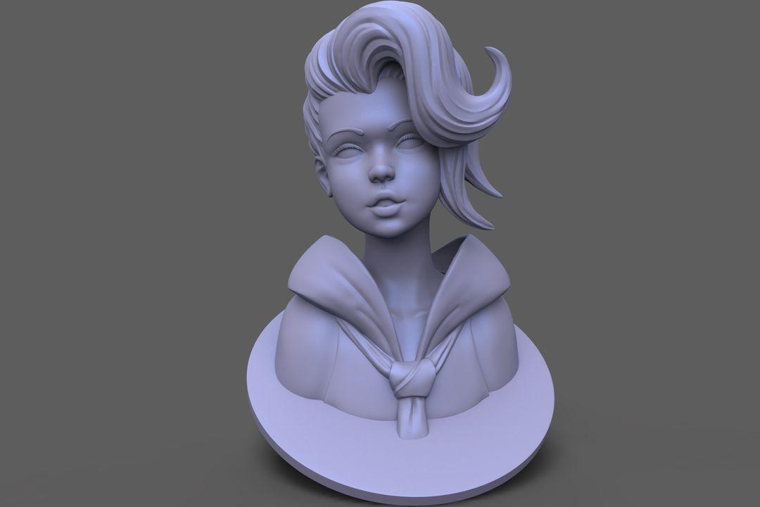 3D Printable Bust sc2 jpg