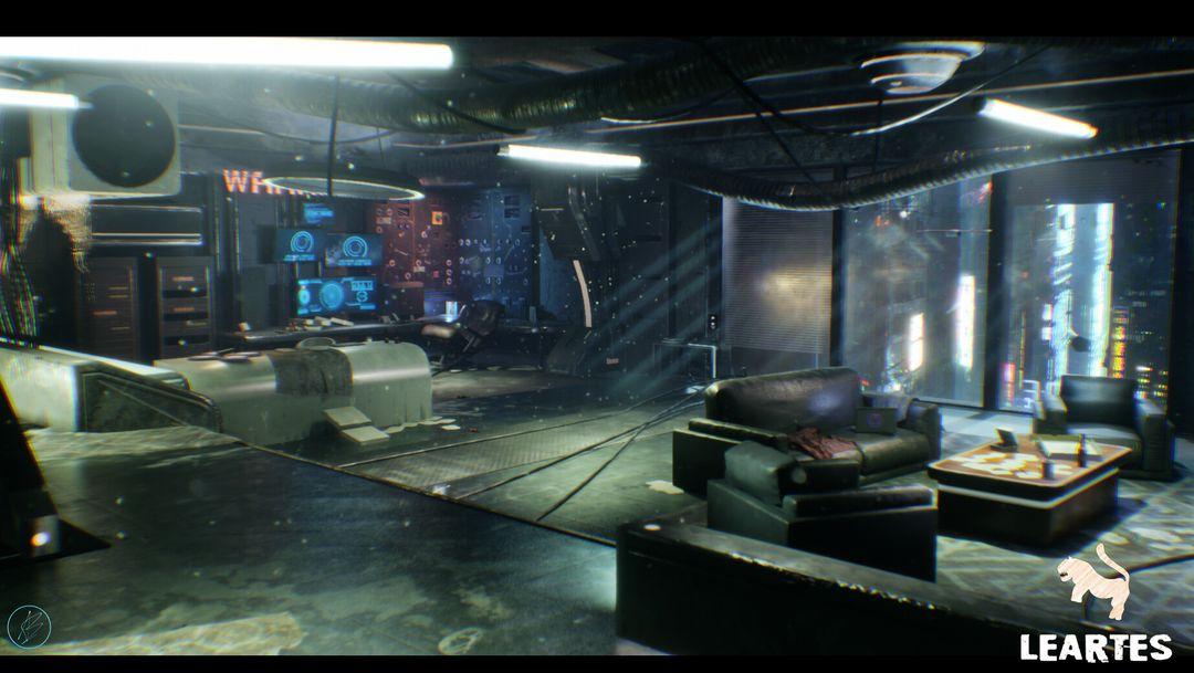 CyberPunk Room abid becirevic 1 jpg