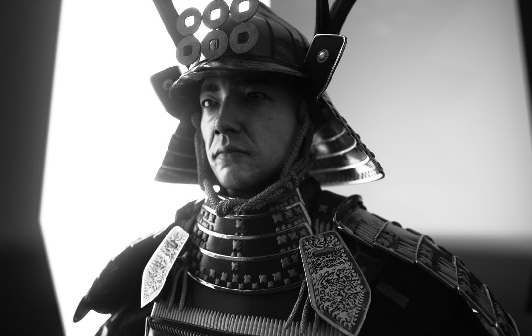 Samurai SamuraiRender 123BW jpg